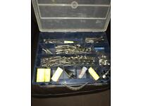 Box of drills hole cutters & reamers