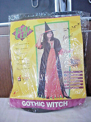 HALLOWEEN COSTUME GOTHIC WITCH SIZE XL 16-20  - Rubies Halloween Gothic Kostüme