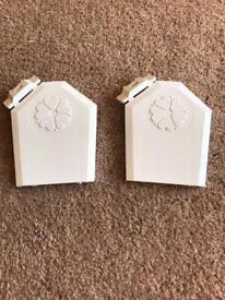 2 x conservatory caps