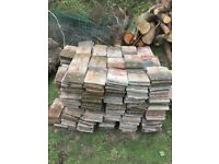 Reclaimed clay roof tiles 50 pence each