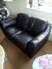 Leather sofas 2 and 1 electric leather relax chair