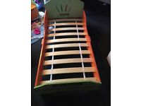 Brand new toddler bed and mattress