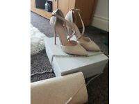 Kurt Geiger heels and matching Carvela bag