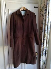 Womens Boden Coat Brown Size 8