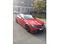 Mercedes C63 coupe 2013 30k Full mercedes service history