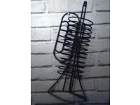 3 cd racks trumpet shaped