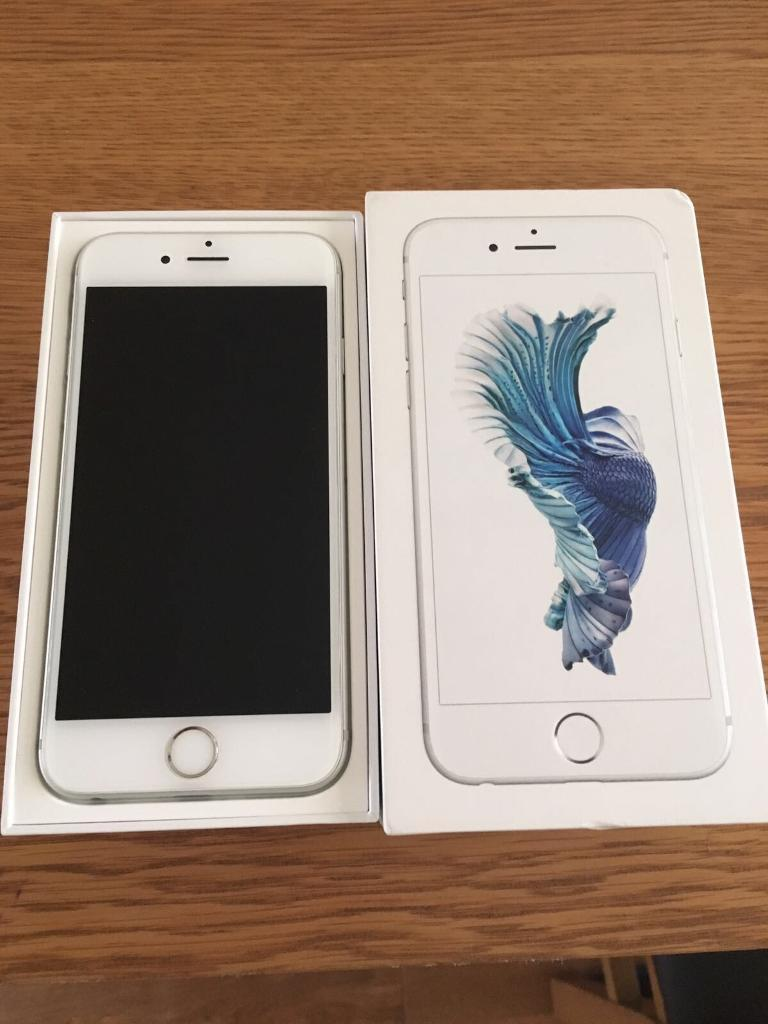 iPhone 6s silver 02in Walton, MerseysideGumtree - Not Evan a year old iPhone 6 s in excellent condition not a mark at all had it in a case selling due to work phone now on 02 network and paid off contact as well