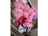 Hen party dance troupe job lot tutus bunny outfits