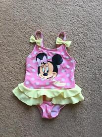 Baby girls 9-12 months swimming costume