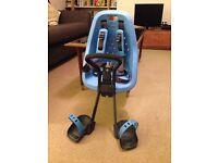 Yepp Mini -- front-mounted child bike seat, blue, unused
