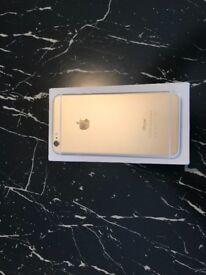 APPLE IPHONE 6 PLUS GOLD 16 GB BOX AND USB CABLE INCLUDED