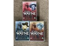 John Wayne Volume 1,2 and 3. 18 John Wayne films in total