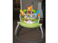 FISHER PRICE SPACE SAVING JUMPEROO / BOUNCER. EXCELLENT CONDITION
