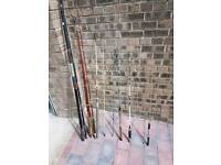 **£5** A variety of Fishing Rods Beach, Boat, Harbour, Fly