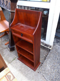 BOOKCASE HALL STAND SIDE TABLE UNIT IDEAL SHABBY CHIC UP CYCLE IN YEOVIL