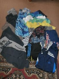 Bundle of boys clothes: size 9-10 years/146cm