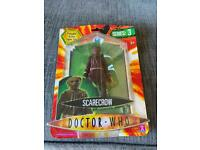 Dr who Scarecrow figure