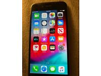 iPhone 6 64GB on 02 giff gaff tesco cracked screen all works