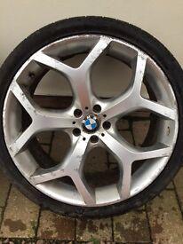 BMW X5 22inch alloys