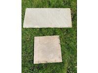 Classic Sandstone Light Grey Premium Select Paving Slabs - Never Used