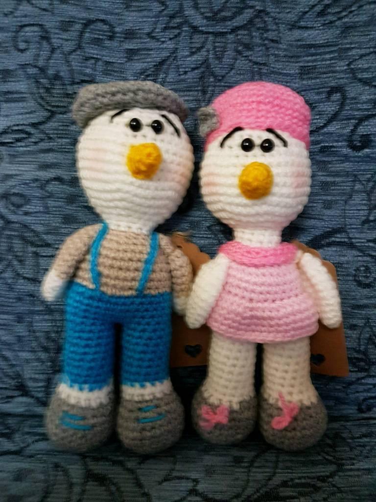 Mr amd Mrs duck