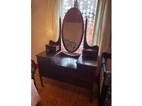 Vintage Antique Dresser with Mirror