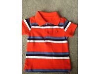 Brand new with tag Tommy Hilfiger polo shirt 3-6 months & bag