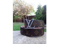 Louis Vuitton Damien Leather Belt