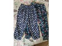 Summer trousers 3-4years