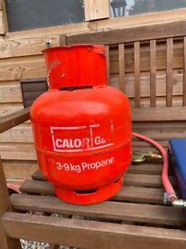 Double Burner Camping Stove with Gas Bottle Hose & Regulator