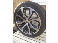 "Citroen C3 Picasso new 17"" alloy wheel and tyre 205/45 R17"