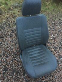 Land Rover Defender Td5 front seats