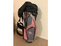 Ladies golf bag.
