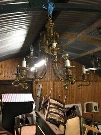 Antique Solid brass Chandelier