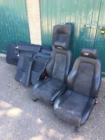 Audi tt mk1 alcantara leather seats