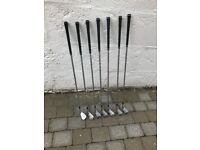 TaylorMade LEFT Handed CB irons for sale