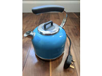 Kenwood Kmix electric kettle, blue, good working condition