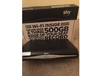Sky HD box Brand New and Boxed WIFI Version - latest model