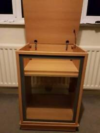 Record cabinet or display cabinet