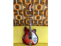 Rickenbacker 370 - 6 string in Fireglo - rare and beautiful guitar