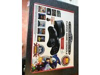 Sega megadrive 80 games installed classic console with 2 wireless controller