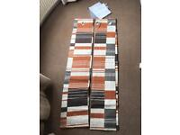 """**BRAND NEW NEXT EYELET CURTAINS IN PACK ~ 53x54""""**"""