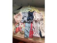 Baby girls bundle of clothes 3-6m
