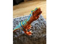 Talking Boris Dinosaur toy