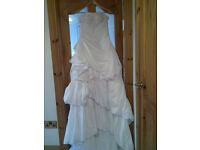 New White Wedding Dress for Sale size 8