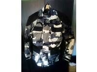 Camo bike jacket a trousers for sale
