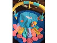 Jumperoo, play gym and baby bouncer