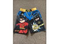Boys Lego Swimshorts TU Size 6YRS