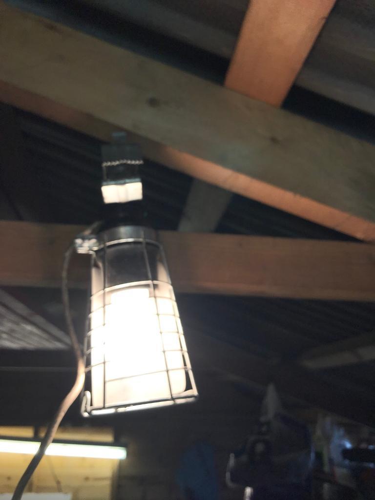 Vintage Work Light