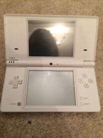 Nintendo white dsi console